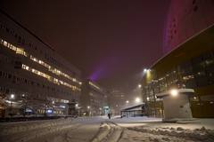 Globen in snow