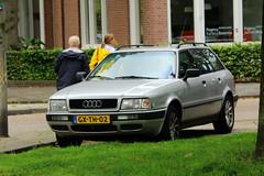1993 Audi 80 Avant Automatic (Dirk A.) Tags: sidecode5 onk gxth02 1993 audi 80 avant automatic