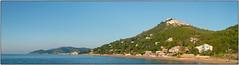 Costa di S. Maria de Castellabate (/RealityScanner/) Tags: italien italy cilento santamaria castellabate küste coast coastline panorama sky water sea mare himmel wasser meer blau grün blue green travel reise autumn herbst mediterranean panasonic lumix gx80