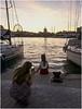 0023-ÚLTIMAS LUCES EN EL MUELLE UNO DE MÁLAGA (--MARCO POLO--) Tags: atardeceres ocasos mares costas ciudades rincones siluetas