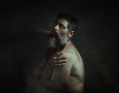 Sighs of an icy soul (jcalveraphotography) Tags: selfportrait selfie serie selfiebeard studio smoke surrealism conceptual creative conceptualimage beard bearded portrait photo photographer projects people picture painting 365 explore eyes 365days look sighs