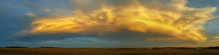 The chinook arch (Len Langevin) Tags: clouds chinookarch sky skies alberta canada skyscape weather samsung galaxys6 sunset