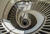 Confused (Elbmaedchen) Tags: stripes staircase treppenauge treppenhaus stairs stairwell downstairs berlin hwr schöneberg swirl spirale spirals helix