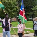 "<b>Homecoming Parade</b><br/> The international students assossiation and allies ISAA celebrated the diversity at Luther College by walking the homecoming 2017 parade. October 7 2017. Photo by Hasan Essam Muhammad<a href=""http://farm5.static.flickr.com/4501/37755936141_7f305a6398_o.jpg"" title=""High res"">∝</a>"