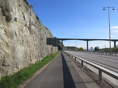 Along E45 north of Angeredsbron 2014 (biketommy999) Tags: angeredsbron bro bridge västragötaland 2014 biketommy biketommy999 e45