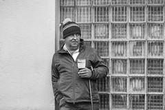 A quiet pint at the fair (Frank Fullard) Tags: frankfullard fullard candid street portrait plain porter beer guinness ballinasloe horsefair fair quiet drink alcohol stick rest galway irish ireland flannobrien brianonolan lol fun poetry harp pub bar irishpub outside monochrome blackandwhite thirst story storytelling heritage
