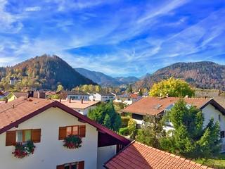 View over Kiefersfelden, Bavaria, Germany