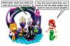 Thin Ursula (Oky - Space Ranger) Tags: lego disney princess little mermaid ariel ursula legs thin weight loss magic