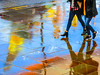 BRY_20170925_IMG_4263_ (stephenbryan825) Tags: limestreet liverpool color multicoloured people rain reflection selects umbrellas vivid walking wetpavement yellow