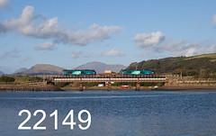 robfrance5d2_22149_300817_x68004_x68025_ravenglass_6c53_drs_edr16lr6pse15weblowres (RF_1) Tags: 2017 68 68004 68025 britain caterpillar caterpillarc17516 class68 cumbria cumbrian cumbriancoast cumbriancoastline diesel directrailservices drs england flask flasks freight haulage hauling hazardous irradiated loco locomotive locomotives nuclear nucleardecommissioningauthority rail railfreight rails railway railways ravenglass rivermite rural stadler train trains transport uk unitedkingdom vossloh waste westmorland