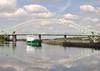 Arklow Rambler passing the Runcorn bridge (A F Photos) Tags: arklow rambler passing runcorn bridge