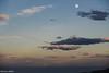 mare luna explored (Fabrizio Diletti (Fermo, Italia)) Tags: mare sea luna moon cloud nuvole cielo sky alba sunset sunrise adriatico adriatic italia italy marche landscape panorama waterscape inexplore explored