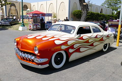 shoebox Ford (bballchico) Tags: ford shoebox custom chopped flames westcoastkustomscruisinnationals carshow awardwinner