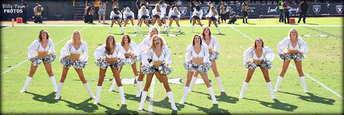 2017 Oakland Raiderettes @ the Coliseum