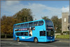 Vectis Blue 1512, East Cowes (Jason 87030) Tags: southernvectis vectisblue october 2017 eastcowes privatehire goahead gosouthcoast doubledecker e400 enviro holiday iow island isleofwight hill oadside blu blue color colour sony ilce church nex lenms flickr tag weather uk engalnd 1512 hw62cwn