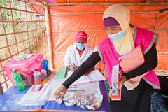 Providing healthcare services (bracworld) Tags: coxs bazar bangladesh myanmar rakhine humanitarian crisis aid child protection childcare healthcare basichealthcare