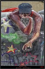 Graffiti Characters (pharoahsax) Tags: graffiti bad vilbel pmbvw hessen süden deutschland kunst art streetart street urban urbanart paint graff wall germany artist legal mural painter painting peinture spraycan spray writer writing artwork tag tags worldgetcolors world get colors