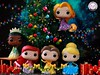 Halloween is over.. The Princesses are busy decorating the tree... Holidays are coming... (PrinceMatiyo) Tags: ariel thelittlemermaid popvinyl funko tangled beautyandthebeast belle cinderella tiana rapunzel christmas disneyprincess disney