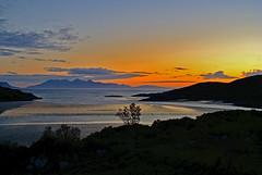 Sunset at Morar (murraymcbey) Tags: sunset morar scotland