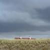 (Babette de Jong.) Tags: nikond7100 nikkor50mmf18 square house dunes beach sea strand noordwijk nederland holland clouds storm weather sky grass landscape