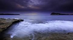 0S1A6810 copy (Steve Daggar) Tags: pearlbeach seascape sunrise gosford woywoy longexposure moody dramatic cloudscape nswcentralcoast