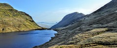 GRISEDALE TARN, CUMBRIA (pajacksonartist) Tags: grisedale tarn cumbria cumbrian lake district lakedistrict lakeland mountainside mountains