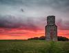Shepherd's delight (tom ballard2009) Tags: dorset horton clouds evening red sunset tower sheep delight shepherds landscape field building
