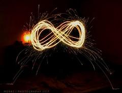 Infinity (Meraj.) Tags: dslr digitalphotography diwali festival bangalore karnataka india nikkor kitlens nikond5300 nikon nikonflickraward photography fire sparkle beyondbokeh