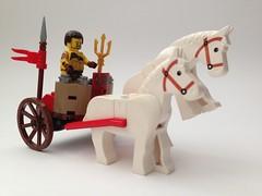 Gladiator Chariot (nz-brickfan) Tags: gladiator chariot lego legophotography toy toyphotography rome