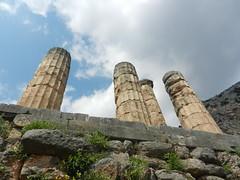 Temple at Dlephi (hannahelder71) Tags: ruins delphi greece ancient temple columns