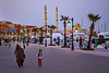 Hurghada Marina (.hd.) Tags: hurghada marina egypt aldahaar mosque sunset street people woman child caftan walking hurghada2017 minaret