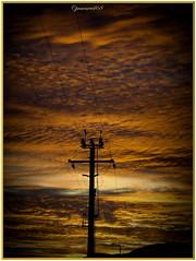 Ambiance électrique (jamesreed68) Tags: éléctrique poteau ciel coucherdesoleil nuages 68 alsace nature paysage hautrhin grandest france samsung wb30fwb31fwb32f