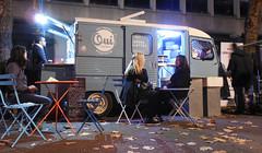Citroen H vans, London, Oct 2017 (roger.w800) Tags: van camionette citroen classicvan oldfrenchvan cateringvan citroenhvan