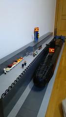 5 OVERALL VIEW (green helmet spanish AFOL) Tags: submarine submarino lego attacksubmarine diesel torpedo missile ssn ssk ssp uboat sousmarine legominifigsubmarine legosubmarine