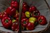 Pepper harvest (BeeFour1) Tags: vegetables stilllife peppers red color garden harvest homegrown