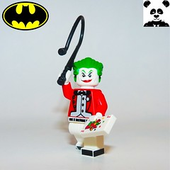 30 - The Joker (Random_Panda) Tags: lego figs fig figures figure minifigs minifig minifigures minifigure purist purists character characters film films movie movies television tv comics superhero superheroes hero heroes super comic book books show shows dc villains toy batman superman wonder woman aquaman green lantern the flash rogues cartoon villain joker gotham arkham asylum