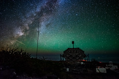 MAGIC (free3yourmind) Tags: magic observatory telescope lapalma canary islands spain roque de los muchachos dark skies milky way night sky stars observation comet asteroid universe