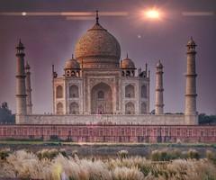 Taj Mahal early morning (Marlytyz) Tags: taj mahal travel building architecture love india