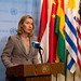 Federica Mogherini attends the 72 UNGA Ministerial Meeting in New York, September 2017
