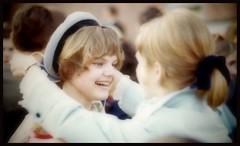 Wife in 1969... (iEagle2) Tags: analog analogfilm analogue female femme frau film ehefrau sweden spring woman wife women teen