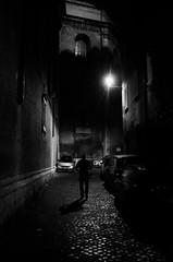 TRASNOCHADO (oskarRLS) Tags: night dangerous street roma calle mood alée passageway callejón noche blanconegro blackwhite