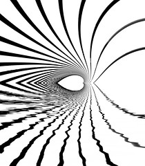 Dreamlike Climax - Abstract Architecture by Simon Hadleigh-Sparks (Simon & His Camera) Tags: art abstract lines curve distorted reflection white blackandwhite contrast architecture bw composition conceptual monochrome minimalist minimalism mirror pattern simonandhiscamera water symmetry geometric