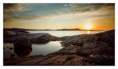 (Frank S. Schwabe) Tags: sunset sun sea shore klubba kristiansund sky coast canon clouds nordmøre norway norge nature eos ef24mmf28isusm evening atlantic averøy autumn rocks