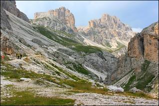 Le majestueux massif des Dolomites (Trentin-Haut-Adige, Sud Tyrol, Italie)