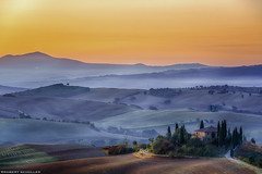 Podere Belvedere, a light soul of Tuscany. (Robert Schüller) Tags: podere belvedere val dorcia tuscany italy