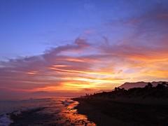 Crepúsculo (Antonio Chacon) Tags: andalucia atardecer marbella málaga mar mediterráneo costadelsol cielo españa spain sunset