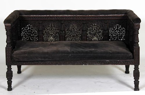 Ornate Carved Settee ($358.40)