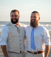 Wedding-9791 (kasiahalka (Kasia Halka)) Tags: ariel atlanticocean beach follybeach michal ocean sand sc southcarolina water wedding