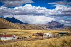 The altiplano in Southern Peru threatens to rain.