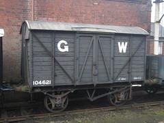 IMG_7186 - GWR V18 'Mink A' Goods Van 104621 (SVREnthusiast) Tags: severnvalleyrailway svr severnvalley severn valley railway autumngala2017